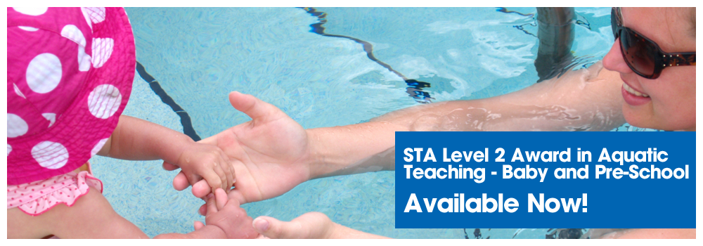 STA Level 2 Award in Aquatic Teaching - Baby and Pre-School