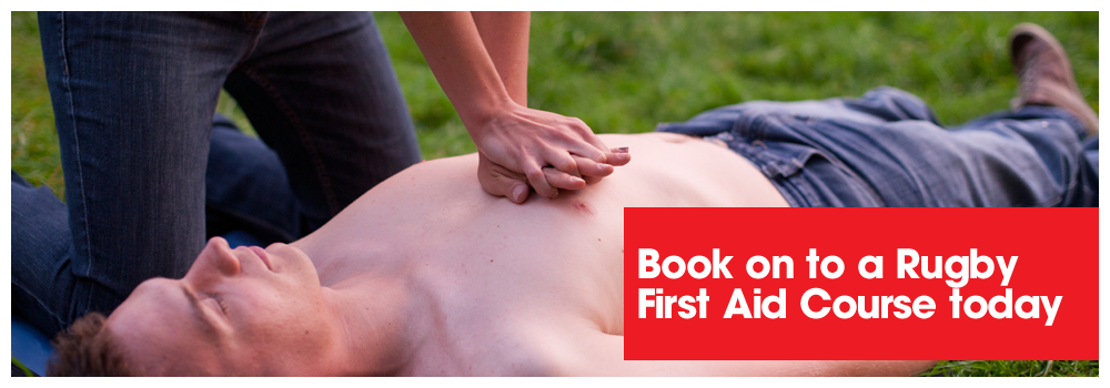 Book on to a Rugby First Aid Course Today