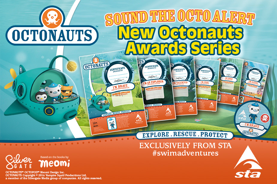 STA Launches New Octonauts Swimming Awards Programme – STA.co.uk