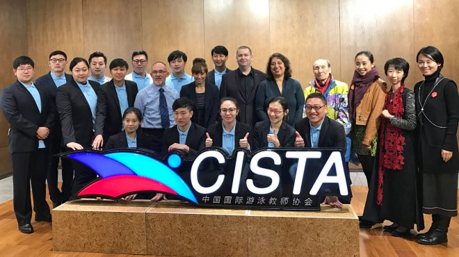 Pictured here at the well-attended CISTA media launch are STA's Dave Candler and Zoe Cooper with Garry Seghers and the attending dignitaries.